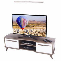Ankara Mobilya Boreas Ceviz Beyaz 160 Cm Tv Sehpası