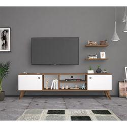 Bena Mobilya Poyraz  Haliç Beyaz 160 Cm Tv Sehpası