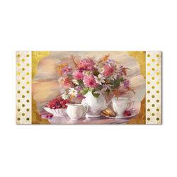 Çiçek Kanvas Tablo-4