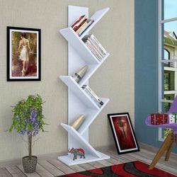 Moonlife Tree Dekoratif Kitaplık - Beyaz