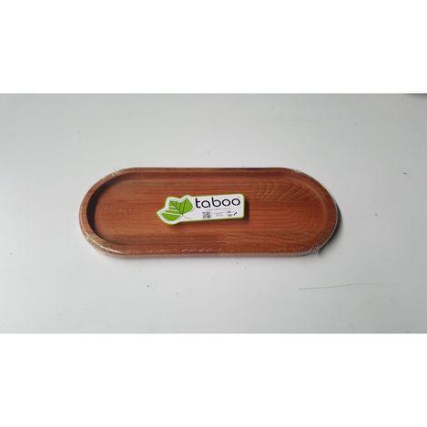 Taboo Tab-1159 Oval Ahşap Servis Tabağı