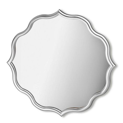 Resim  The Mia Ayna 60 x 60 Cm Gümüş
