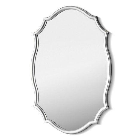 Resim  The Mia Ayna 63 x 42 Cm Gümüş
