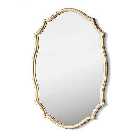 Resim  The Mia Ayna 63 x 42 Cm Gold