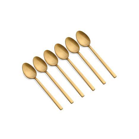 The Mia Çay Kaşığı 6 Parça - Gold