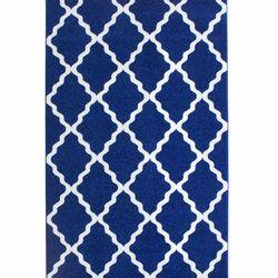 Saray Halı Tuana 011 200x300 cm Dalga Desen Lacivert Modern Halı