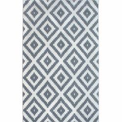 Saray Halı Tuana 012 120x170 cm Mozaik Desen Gri Modern Halı