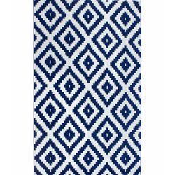 Saray Halı Tuana 012 200x300 cm Mozaik Desen Lacivert Modern Halı