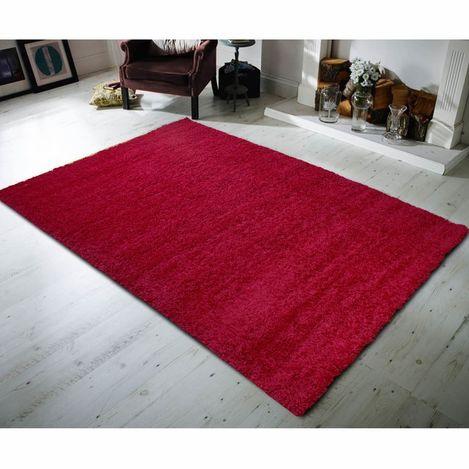Payidar Kırmızı Shaggy Halı 9000NM 160x230  cm