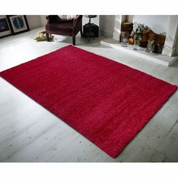 Payidar Kırmızı Shaggy Halı 9000NM 80x150  cm