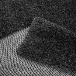 Payidar Siyah İpek Shaggy Halı 9000NM 160x230 cm