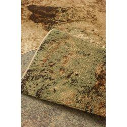 Payidar Lorav FD281M 80x150 cm Ekai Desen Bej / Yeşil Modern Halı