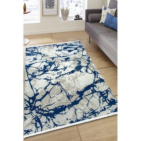 Resim  Payidar Vaveyla 4313A 80x150 cm Mavi Harmony Desen Modern Halı