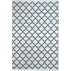 Payidar Vaveyla 1668A 80x150 cm Mavi İpek Desen Modern Halı