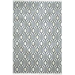 Payidar Vaveyla 1706A 150x230 cm Gri Veux Desen Modern Halı