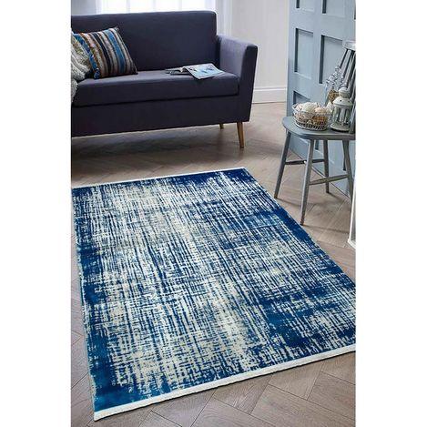 Resim  Payidar Vaveyla 1423B 120x170 cm Mavi Ador Desen Modern Halı