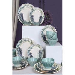 Keramika Badem 6 Kişilik Yemek Takımı - 18 Parça