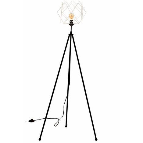 Resim  Safir Light Mio Lambader Metal Prizma Beyaz Model