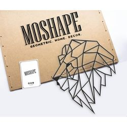 Modacanvas Aslan Metal Tablo