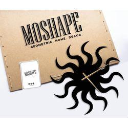 Modacanvas Dekoratif Metal Tablo Saat