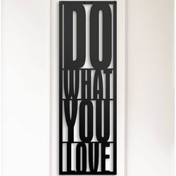 Modacanvas Do What You Love Metal Tablo