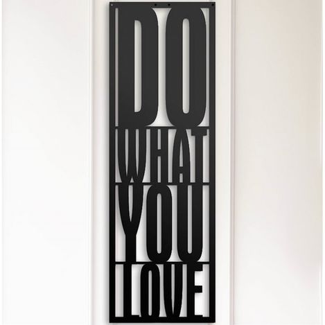 Resim  Modacanvas Do What You Love Metal Tablo