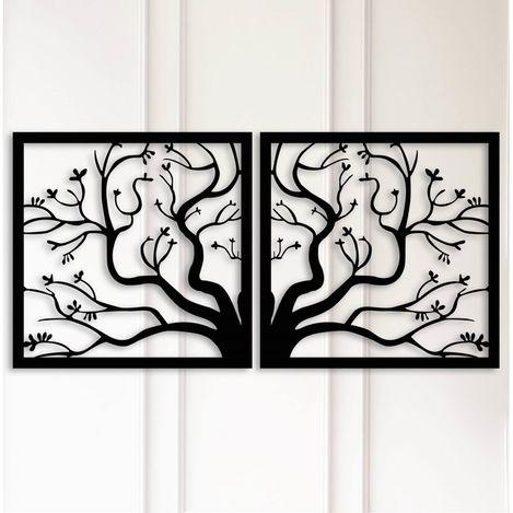 Modacanvas Ağaç Figürü Metal Tablo