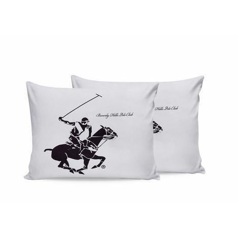 Beverly Hills Polo Club Desdale 2'li Yastık Kılıfı - Lila