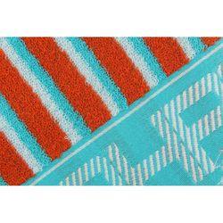 Beverly Hills Polo Club Polo Havlu 50x100(1) Spacial Box Jakarlı İplği Boyalı Turkuaz-Oranj