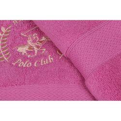 Beverly Hills Polo Club Polo Havlu Seti 45x70(2) Hand&Towel Logo Nakışlı A-121 Pembe