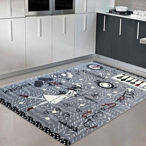 Saray 006 Tuana Renkli Modern Halı 80x300 cm