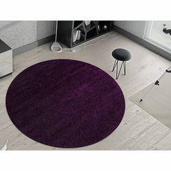 Payidar Violet Shaggy Halı 9000NM 120x120 cm