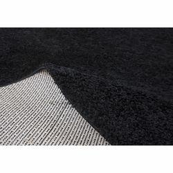 Payidar Siyah Shaggy Halı 9000NM 160x160 cm