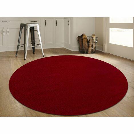 Resim  Payidar Kırmızı Shaggy Halı 9000NM 160x160  cm