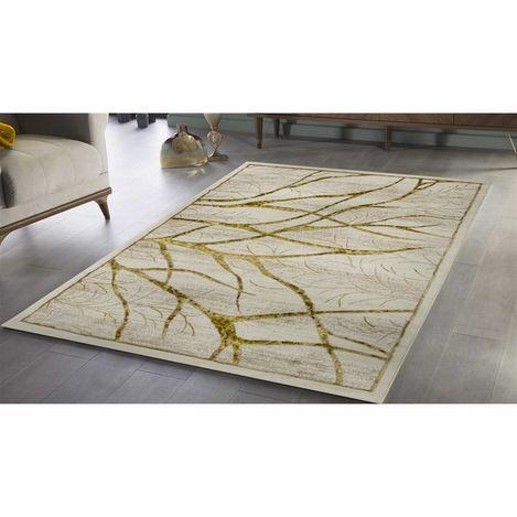 Payidar Gold G4018M Krem 80x150 cm Doğa Desen Modern Halı