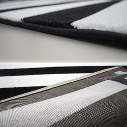 Payidar Roya FB45 Modern Halı (Siyah/Beyaz) - 150x233 cm