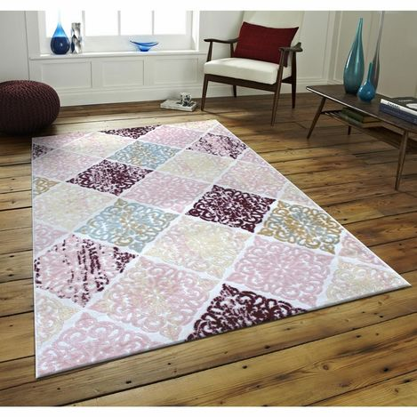 Payidar Evrim HB04 Renkli Modern Halı - 100x200 cm