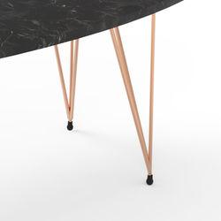 Just Home Casual Orta Sehpa - Siyah/Bakır 118 X 50 cm