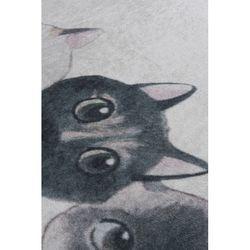 Chilai Home Angry Cats DJT Banyo Halısı - 40x60 cm