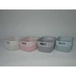 Gondol Plastik 29649 Knitty Mini Çift Renkli Sepet
