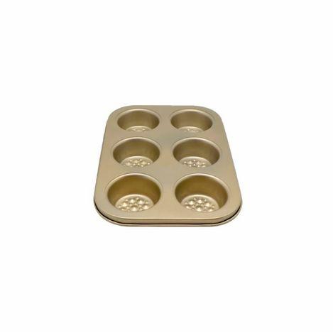 Axentia 6 Bölmeli Muffin Kek Kalıbı - 32x21.5x3.5 cm