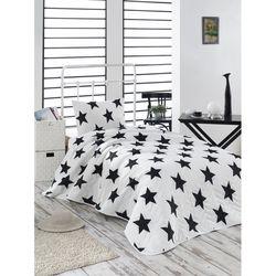 Eponj Home B&W BigStar Tek Kişilik Yatak Örtüsü Takımı