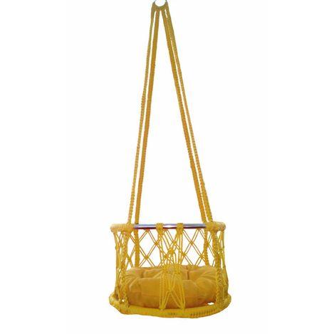 Altınoluk 40'lık Çocuk Salıncağı Sarı (Sarı Minderli)
