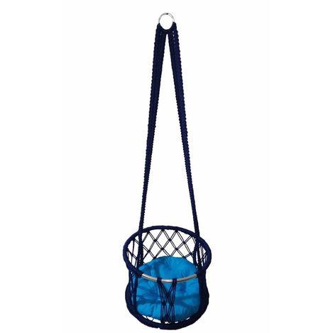 Altınoluk 40'lık Çocuk Salıncağı Lacivert (Mavi Minderli)