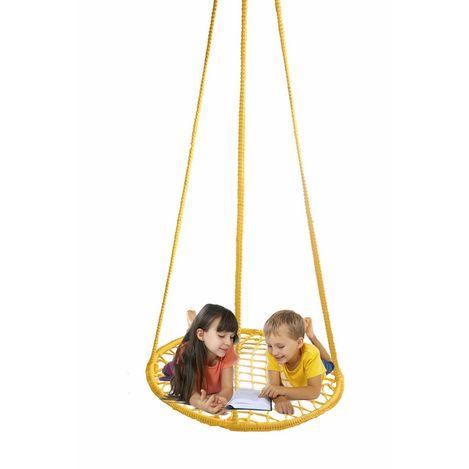 Resim  Altınoluk Büyük Boy Çocuk Salıncak ( Sarı )