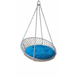 Altınoluk Relaks Salıncak Beyaz ( Mavi Minderli )