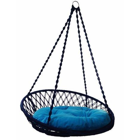 Resim  Altınoluk Relaks Salıncak Lacivert ( Mavi Minderli )