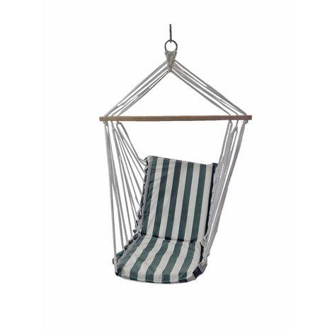 Resim  Altınoluk Sandalye Salıncak ( Yeşil Beyaz )