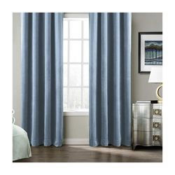 Premier Home Harmony Fon Perde (Mavi) - 140x270 cm