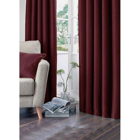 Premier Home Fon Perde (Kırmızı) - 140x270 cm